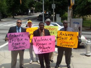 MACE pickets APS Gangsta School System